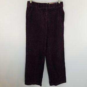 Boden Wide Leg Corduroy Trouser Pants US 8 L
